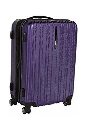Traveler's Choice Traveler's Choice Tasmania 100% Polycarbonate Expandable 8-Wheel Spinner Luggage with Diamond Cut Texture Finish - (25-Inch)