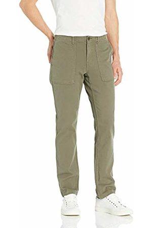 Goodthreads Men's Standard Slim-Fit Porkchop Pocket Stretch Canvas trouser