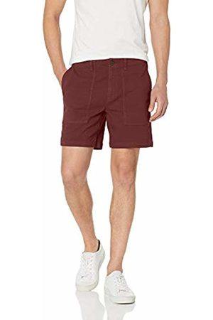 Goodthreads Men's Standard 7 Inch Inseam Porkchop Pocket Stretch Canvas Short
