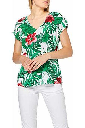 s.Oliver Women's 05.906.12.5368 Blouse, AOP Tropical A