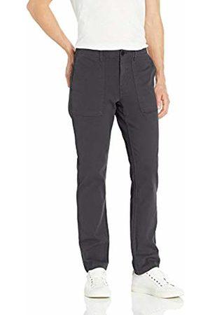 Goodthreads Men's Slim-fit Porkchop Pocket Stretch Canvas trouser trousers