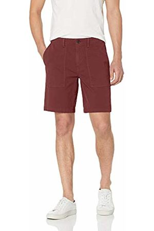 Goodthreads Men's Standard 9 Inch Inseam Porkchop Pocket Stretch Canvas Short