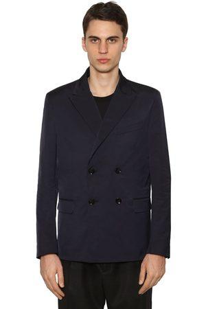 Valentino Double Breasted Nylon Jacket