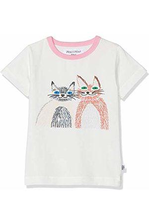 Phister & Philina Girls' Galine cat T-Shirt Mehrfarbig (Star Sta)