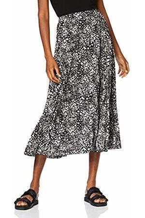 New Look Women Pleated Skirts - Women's Animal Pleat Skirt