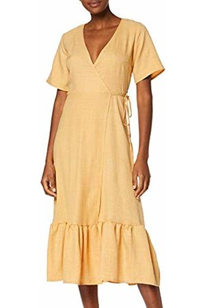 New Look 915 Women's Linen Tier Hem Dress