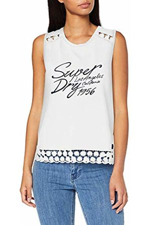 Superdry Women's Jessica Graphic Tank Vest, (Rodeo Wb2)