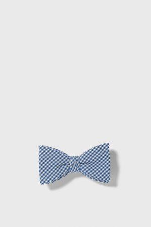 Zara Gingham bow tie