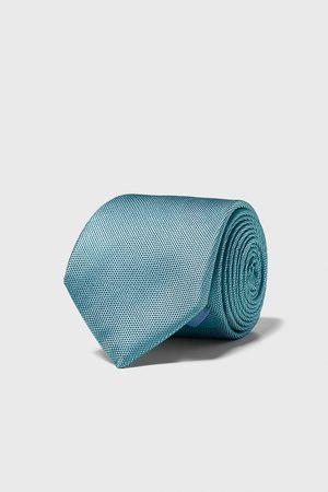 Zara Wide textured tie