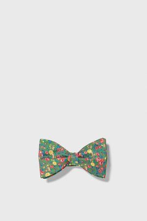 Zara Floral bow tie
