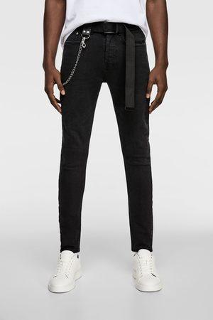 Zara Jeans with chain belt