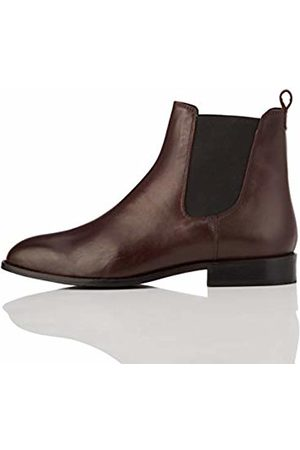 FIND Leather Chelsea Boots, Plum