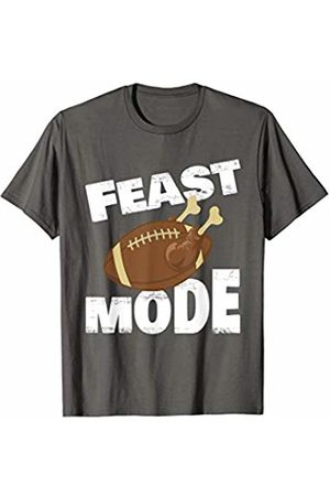 55d00df8 Thanksgiving Turkey Feast Mode Football Family Day Holiday T-Shirt