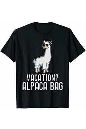 M3 Designs Vacation Alpaca Bag (I'll pack a bag) Humor T-Shirt