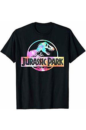 Jurassic Park Full Logo Tie Dye Vibrant T-Shirt
