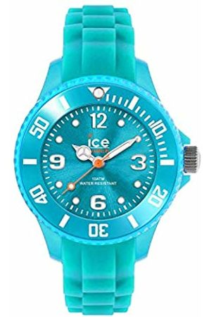Ice-Watch Ice Forever Turquoise - Women's Wristwatch with Silicon Strap - 000965 (Small)