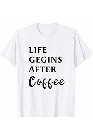 Life Begins After Coffee Mens Shirt