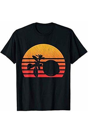 Classic Vintage Retro T-Shirts Vintage Retro Sunset Lime T-Shirt