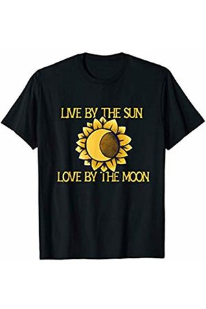 SnuggBubb Women T-shirts - Live by the sun love by the moon T-Shirt