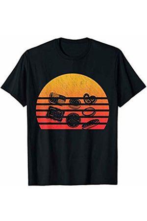 Classic Vintage Retro T-Shirts Vintage Retro Sunset Biscuit T-Shirt