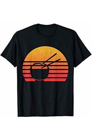 Classic Vintage Retro T-Shirts Vintage Retro Sunset Rice T-Shirt