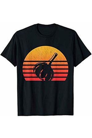 Classic Vintage Retro T-Shirts Vintage Retro Sunset Garlic T-Shirt