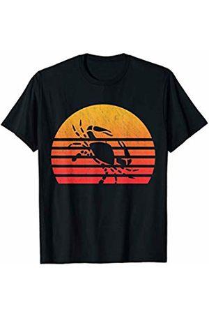 Classic Vintage Retro T-Shirts Vintage Retro Sunset Cancer T-Shirt