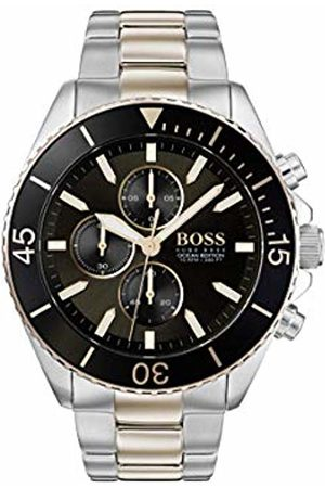 HUGO BOSS Mens Chronograph Quartz Watch with Stainless Steel Strap 1513705