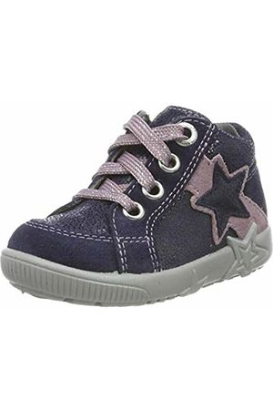 Superfit Baby Girls' Starlight Low-Top Sneakers, (( /Lila 80)