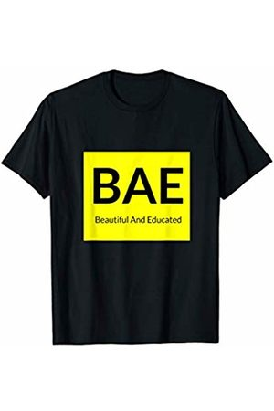 S.Kay Creations Co BAE Beautiful and Educated for the Bold Woman T-Shirt