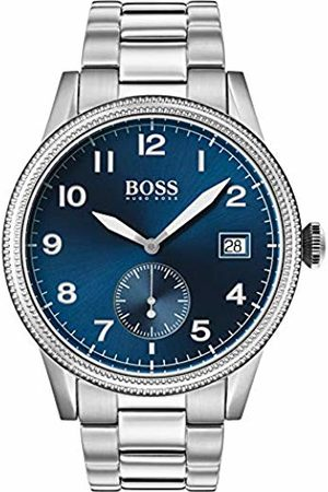 HUGO BOSS Mens Analogue Classic Quartz Watch with Stainless Steel Strap 1513707