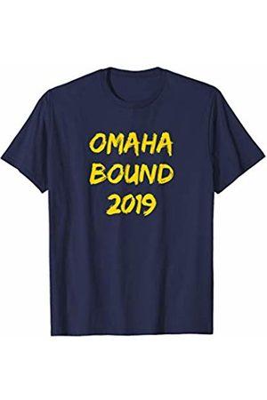 Go Blue Gear Omaha Bound 2019 Michigan Baseball T-Shirt