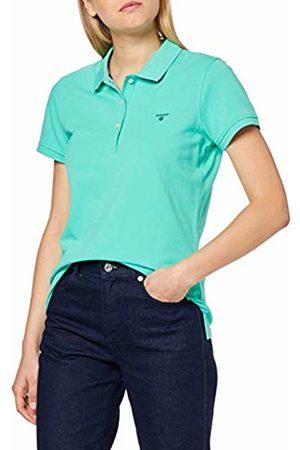 GANT Women's The Summer Pique Polo Shirt, ( Spearmint)