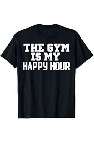 Funny Fitness Shirts The Gym Is My Happy Hour Shirt Cool Workout Shirts T-Shirt