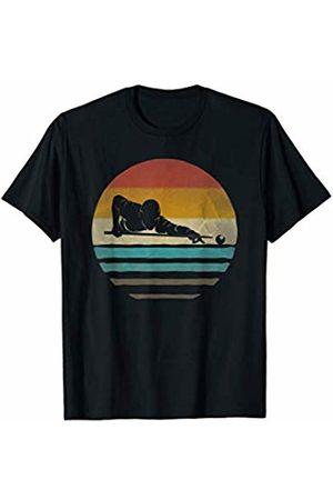 Merchalize Billiards Pool Retro Vintage Sunset Old School Funny Gift T-Shirt