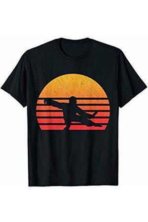 Classic Vintage Retro T-Shirts Vintage Retro Sunset Tai Chi T-Shirt
