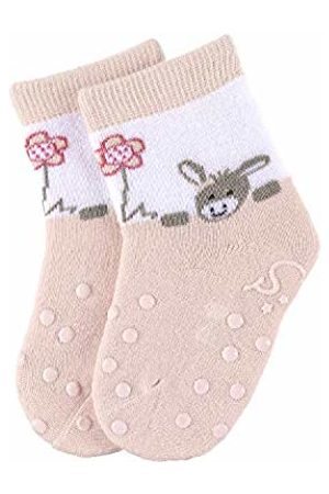 Sterntaler Baby Girls' Calcetines para Gatear Ankle Socks