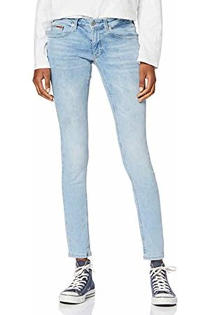 Tommy Hilfiger Women's Low Rise Skinny Sophie Hwlt Straight Jeans, (Hawaii Lt Str 911)