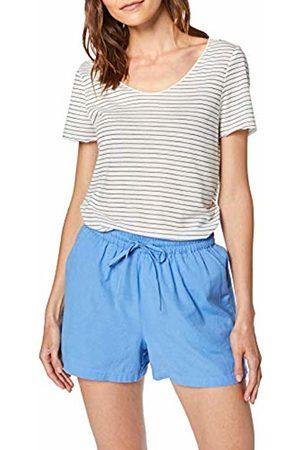 Vero Moda Women's Vmsanne Lua T-Shirt Box, (Pristine Night Sky Stripe)