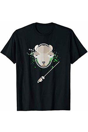 Alpaca Fencing Sports Tee Funny Alpaca Fencing Sports T-Shirt