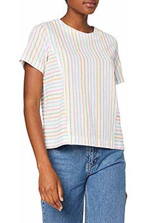 Vero Moda Women's Vmcoco Stripy Ss Top WVN T-Shirt