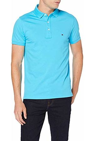 Tommy Hilfiger Men's Tommy Slim Polo Shirt, ( Atoll 480)