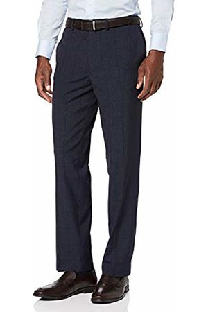 Burton Men's Jaspe Check Tailored Fit Suit Trousers