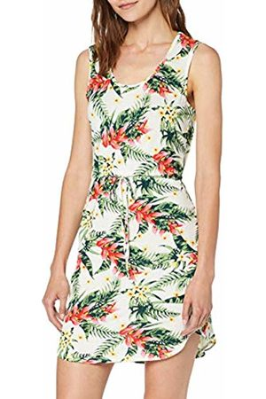 Vero Moda Women's Vmlizzy Sl Short Dress JRS, Molly Snow AOP