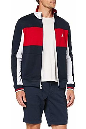 Nautica Men's French Terry Jacket Sportswear Set, Navy 4NV