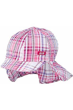 Döll Girls Hats - Girl's Baseballmütze Mit Nackenschutz Cap, Beetroot | 2420