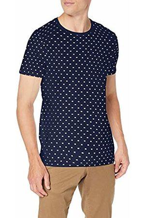 Scotch&Soda Men's Allover Printed Tee Casual Shirt