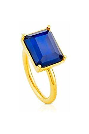 TOUS Women Baguette Quartz Ring -Size L 1/2 412935530