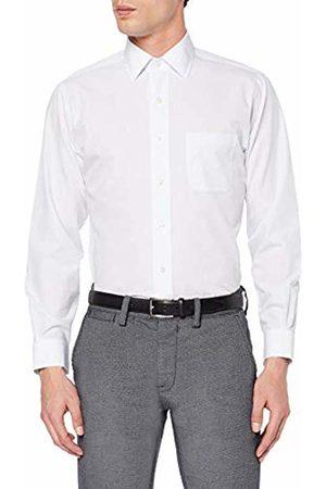 Brooks Brothers Men's Camicia Regent Taschino Manica Lunga Business Shirt