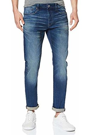 G-Star Men's 3301 Slim Jeans, Worker Faded A088-A888